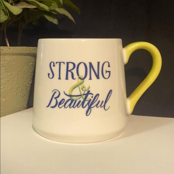 Threshold | 16 oz Porcelain Strong & Beautiful Mug